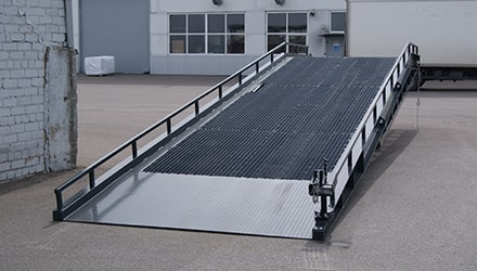 Logistic ramps