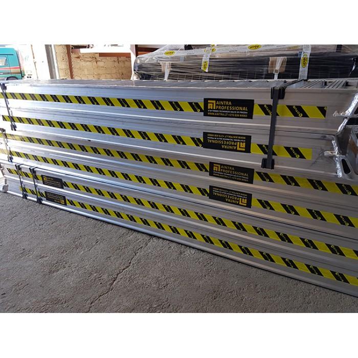 RCST 122/25 2500mm. Ilgio aliuminių rampų komplektas